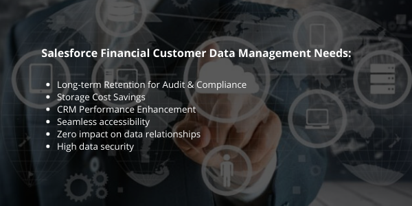 Financial Data Management Salesforce
